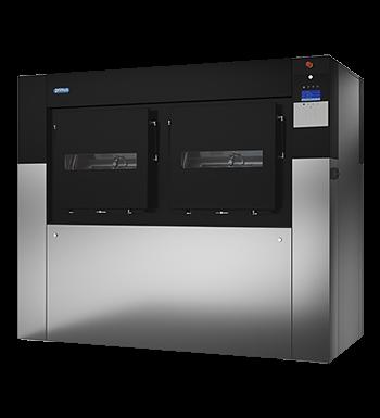MXB700 – Barriere-Waschschleudermaschine zum Einbau in die Trennwand