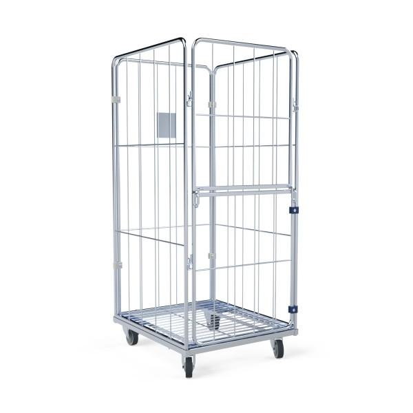 Wäschecontainer Basic II L 4.0 Stahlboden