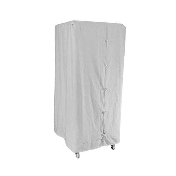 Abdeckhaube Weiß für Wäschecontainer Premium II S