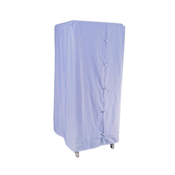 Abdeckhaube Blau für Wäschecontainer Premium I L