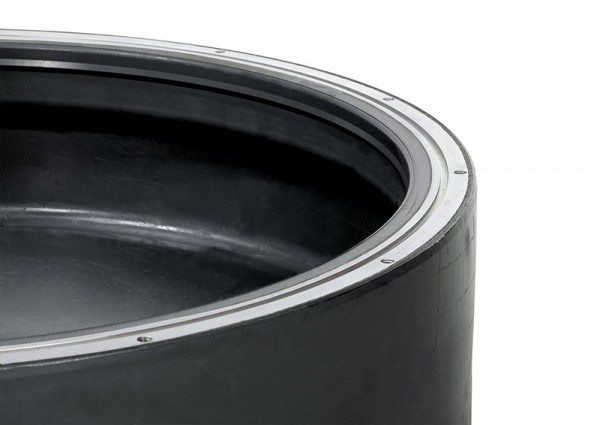 EASYFIX Membrane MP-L-4.0 NR schwarz für Lavatec LP 571-583