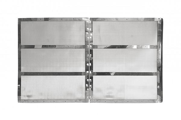 Flusenfilter Dampf 845 x 1443 geteilt mit Scharnier TT 735