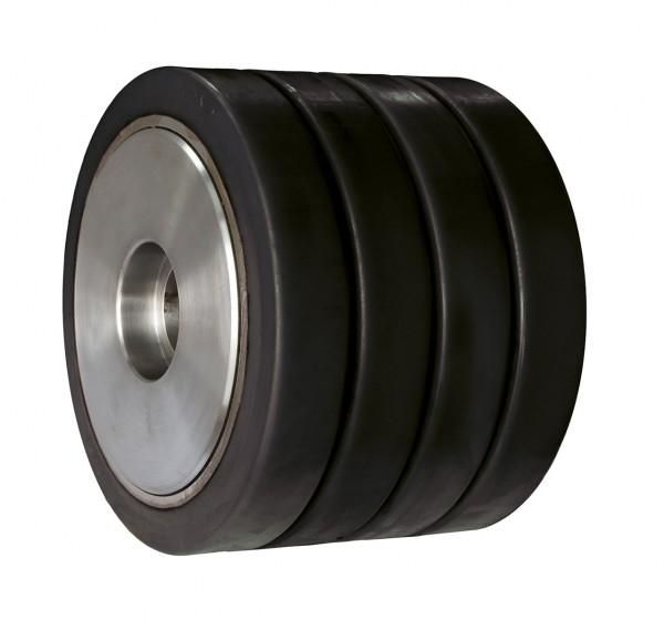 Antriebsrolle mit 4 Bandagen schwarz, LT 35, LT 50