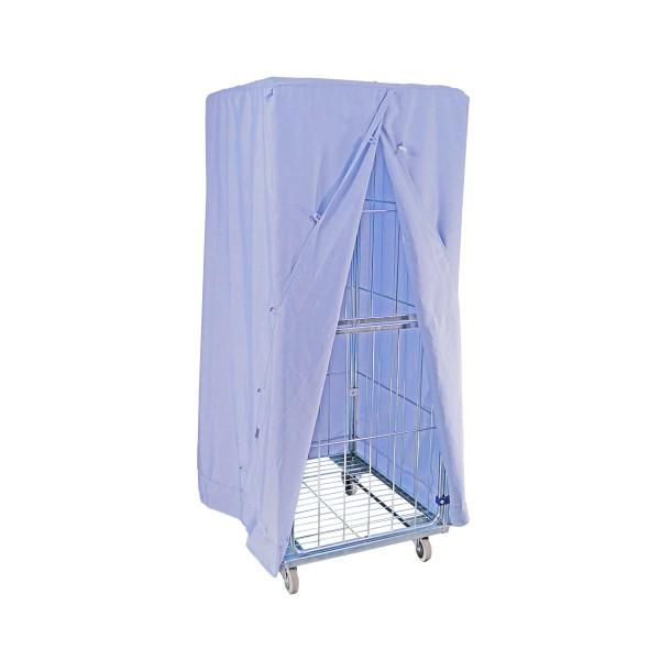 Abdeckhaube Blau für Wäschecontainer Basic II M & Premium III L