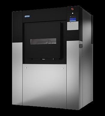 MXB500 – Barriere-Waschschleudermaschine zum Einbau in die Trennwand