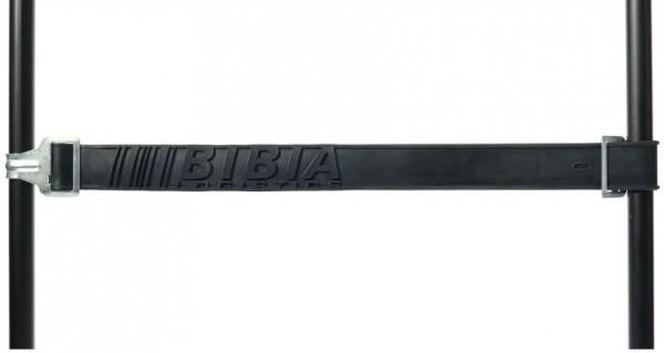 Gummispanngurt, Typ 1 Blechhaken/ 1 Blechöse, grau