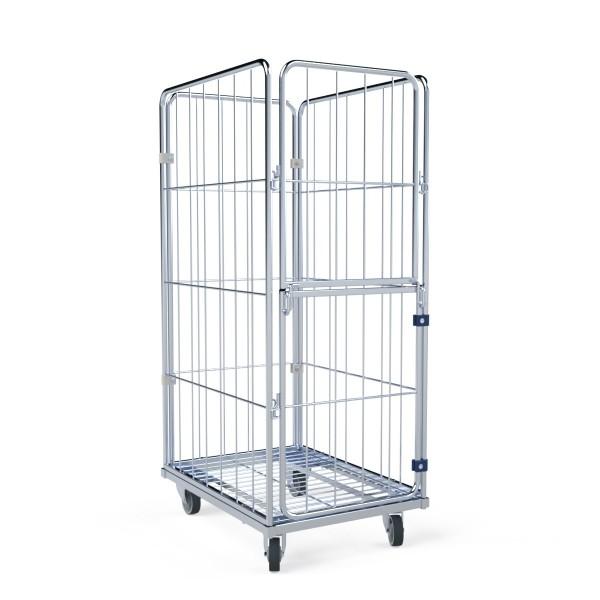 Wäschecontainer Premium II L 4.0 Stahlboden